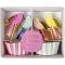 Kit 24 Caissettes et Déco à Cupcakes Jolis Oiseaux images:#0