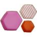 Set 3 plateaux Pink Fantaisie. n°1