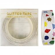 Ruban adh�sif Confettis Party Glitter