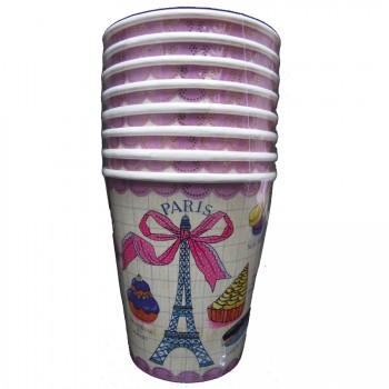 8 Gobelets Paris Gourmand