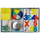 Kit 24 Caissettes et D�cos � Cupcakes Funny Science