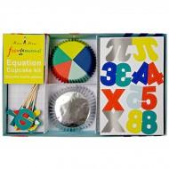 Kit 24 Caissettes et Décos à Cupcakes Funny Science
