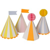 Contient : 1 x 8 Chapeaux Silly Circus