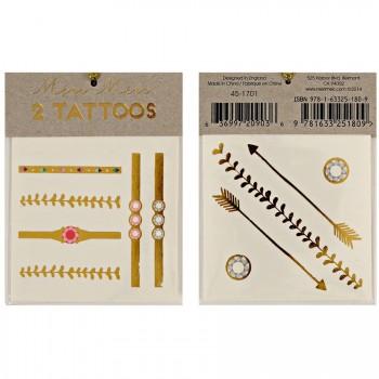 Tatouages Bijoux Or