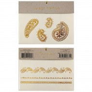 7 Tatouages Bijoux Orient Or