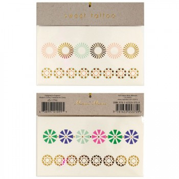 Tatouages Bracelets Fleurs