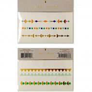 Tatouages Bracelets Géométriques