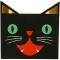 16 Petites Serviettes Halloween Friends images:#0