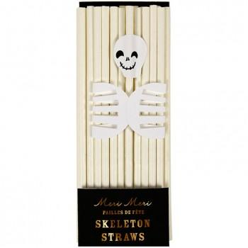 24 Pailles Squelette