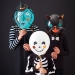 4 Ballons Halloween Friends � personnaliser. n�2