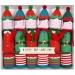 6 Crackers Elfes de Noël. n°1