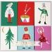 6 Mini Boîte Cadeaux Casse-Noisettes. n°1