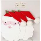 3 Etiquettes Cadeaux Père Noël