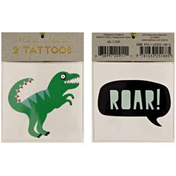 2 Tatouages Dinosaures