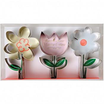 3 Emporte-pièces Fleurs