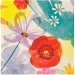16 Petites Serviettes Fleurs Romance. n°1