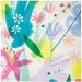 16 Serviettes Fleurs Romance. n�1