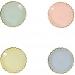 8 Mini Assiettes Pastel Rainbow. n�1