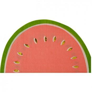 16 Serviettes Pastèque Fruity Party