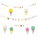 Guirlande Glace Party We love Ice Cream. n�1