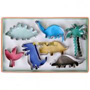 Set 7 Mini Emporte-pi�ces Dinosaures