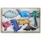 Set 7 Mini Emporte-pi�ces Dinosaures images:#0