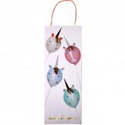 Kit Cr�atif 4 Ballons Licorne � D�corer