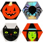 8 Assiettes Halloween Team