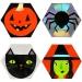 8 Assiettes Halloween Team. n�1