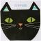 16 Petites Serviettes Chat noir images:#0