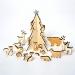 Calendrier de l Avent Animaux en bois. n�1