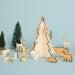 Calendrier de l Avent Animaux en bois. n�3