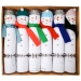 6 Grands Crackers Bonhomme de Neiges. n°1