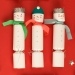 6 Grands Crackers Bonhomme de Neiges. n�3