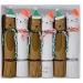 6 Petits Crackers Toutous et Matous de Noël (17 cm). n°1