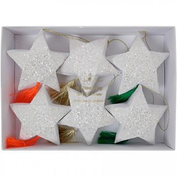 6 Boîtes Cadeaux Etoiles Filantes