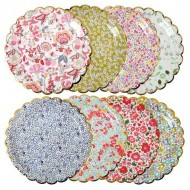 8 Assiettes Liberty Fantaisie