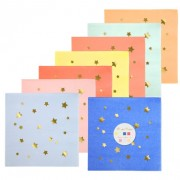 16 Petites Serviettes Magic Stars