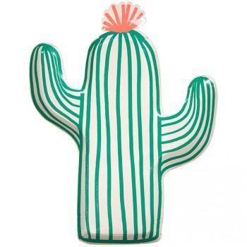 12 Assiettes Cactus Party