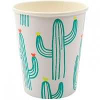 Contient : 1 x 12 Gobelets Cactus Party