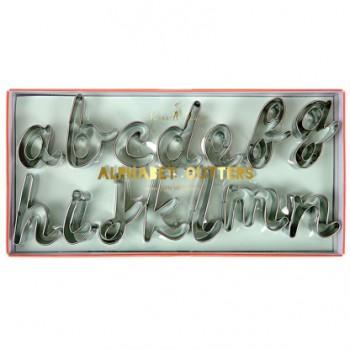 27 Emporte-pièces Alphabet Typo Fantaisie