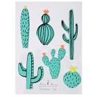 6 Stickers Cactus en Relief