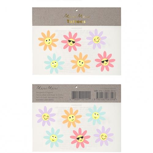 12 Tatouages Fleurs Sourires