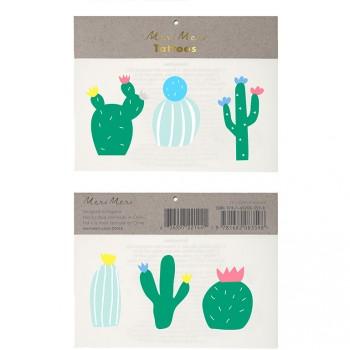 6 Tatouages Cactus