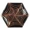 8 Grandes Assiettes Araignée Cuivre (25 cm) images:#0