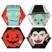 8 Assiettes Halloween Band (26 cm). n°1