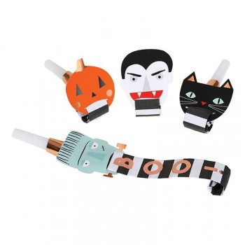 4 Sans-gênes Halloween Band
