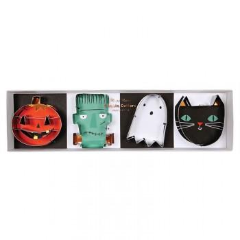 4 Emporte-pièces Halloween Band