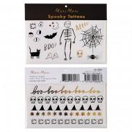 Set Tatouages Spooky Halloween