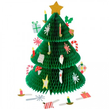 Calendrier de l Avent Sapin de Noël - Papier